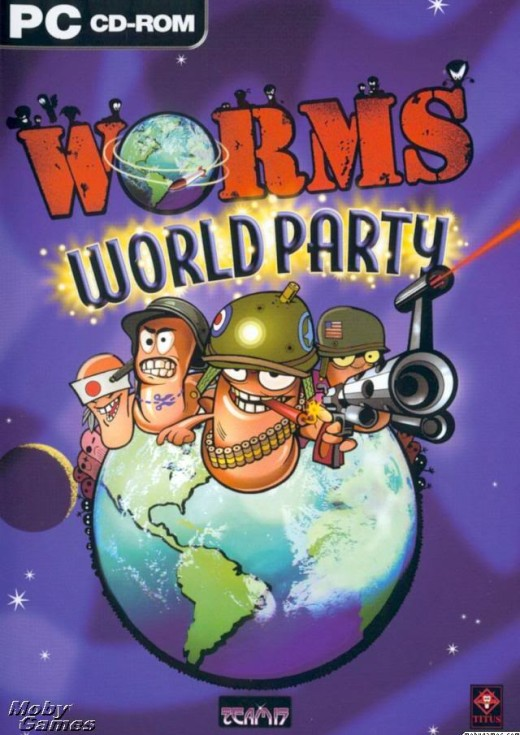 Worms World Party PC