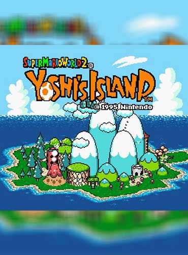 Super Mario World 2 Yoshis Island PC